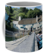 Pandora Inn Cornwall Coffee Mug
