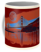 Panorama Golden Gate Bridge Landmark 2 Coffee Mug