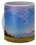 Panorama Of A Colorful Sunset Coffee Mug