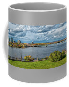 Panorama Of Gatineau, Quebec And Ottawa, Ontario Looking East On The Ottawa River Coffee Mug