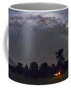 Panorama Of The Southern Night Sky Coffee Mug