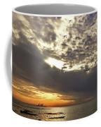 Panorama Of The Sunset In Caesarea Coffee Mug