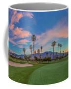 Panorama Palm Springs Golfing Coffee Mug