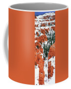 Panorama Winter Storm Blankets Thors Hammer Bryce Canyon Utah Coffee Mug