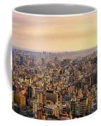 Panoramic Barcelona Coffee Mug