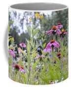 Panoramic Bouquet Coffee Mug