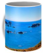 Panoramic California Coast Coffee Mug