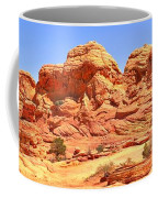 Panoramic Coyote Buttes Landscape Coffee Mug