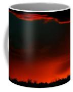 Panoramic Horse Sunset Coffee Mug