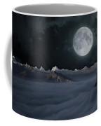 Panoramic Moonscape Coffee Mug