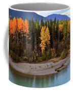 Panoramic Northern River Coffee Mug
