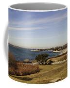 Panoramic Of Woods Hole  Coffee Mug