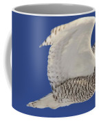 Panoramic Prairie Snowy Owl  Coffee Mug