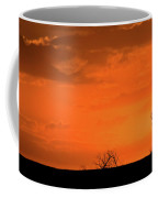 Panoramic Prairie Sunset Coffee Mug
