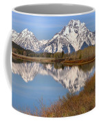 Panoramic Reflections At Oxbow Coffee Mug