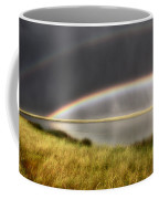 Panoramic Storm In The Marshes Coffee Mug