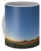 Panoramic Sunset At Grasslands National Coffee Mug