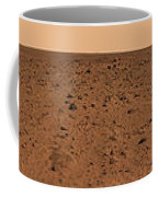 Panoramic View Of Bonneville Crater Coffee Mug by Stocktrek Images