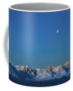 Panoramic View Of Plain At Root Of Mountains At Summer Night  Coffee Mug