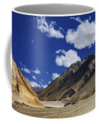 Panrama Of Mountains Ladakh Jammu And Kashmir India Coffee Mug