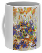 Pansies And Lillies Coffee Mug