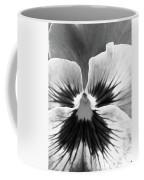 Pansy 06 Bw - Thoughts Of You Coffee Mug