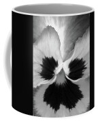 Pansy 09 Bw - Thoughts Of You Coffee Mug