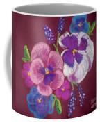 Pansy Grandeur Coffee Mug