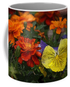 Pansy Play Coffee Mug