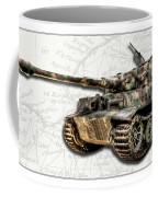 Panzer Tiger I Side Coffee Mug