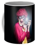 Paparazzi Taking Photograph At Red Carpet Event Coffee Mug