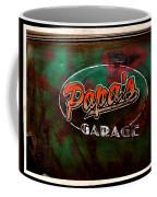 Papa's Garage Coffee Mug