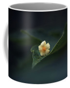Papaya Flower On Leaf Coffee Mug