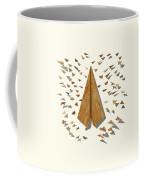 Paper Airplanes Of Wood 10 Coffee Mug