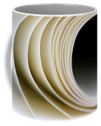 Paper Curl Coffee Mug