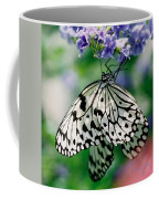 Paper Rice Butterfly Coffee Mug
