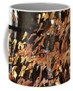 Papery Beech Leaves Coffee Mug