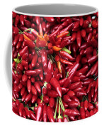 Paprika Peppers At A Market Stall. Coffee Mug