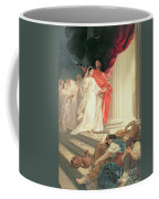 Parable Of The Wise And Foolish Virgins Coffee Mug by Baron Ernest Friedrich von Liphart