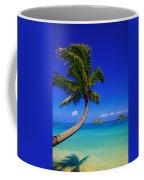 Paradise Palm Over Lanikai Coffee Mug
