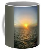 Paradise Sunset Oasis Coffee Mug