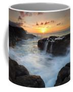 Paradise Sunset Splash Coffee Mug