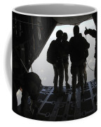 Pararescuemen Prepare For A Halo Jump Coffee Mug