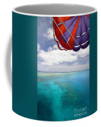 Parasail Over Fiji Coffee Mug