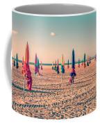 Parasols Of Deauville Coffee Mug