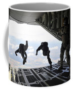 Paratroopers With The Spanish Military Coffee Mug