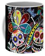 Pareja Dia De Los Muertos Coffee Mug