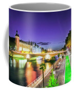 Paris At Night 16 Art Coffee Mug