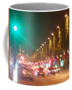 Paris Champs-elysees Unedited Coffee Mug