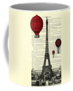 Paris, City Of Love Coffee Mug